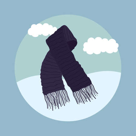 muffler: winter scarf