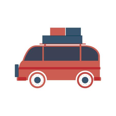 sightseeings: travel van