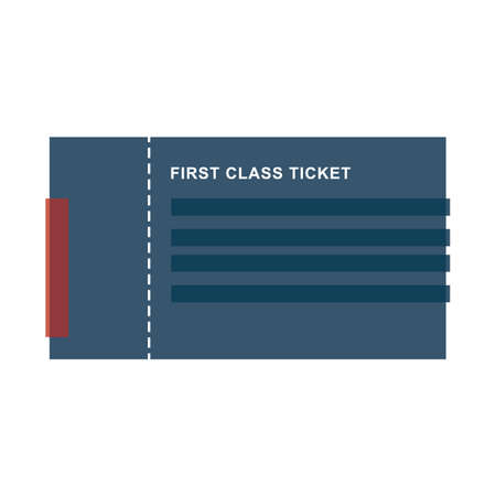 first class: first class ticket