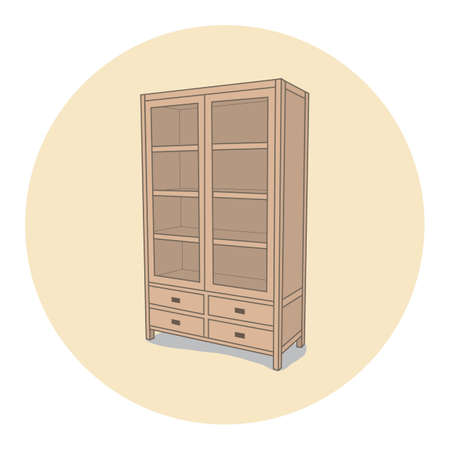 cupboard Иллюстрация