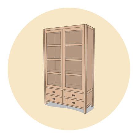cupboard Illustration
