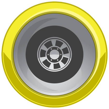 alloy wheel: alloy wheel button