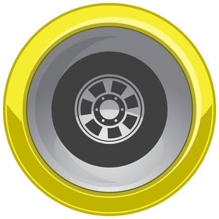 alloy wheel: alloy wheel button