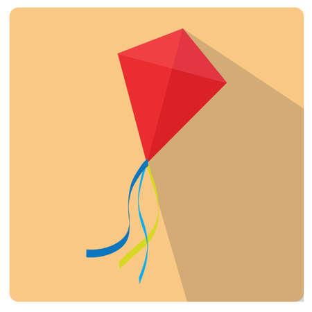 paper kite: kite Illustration