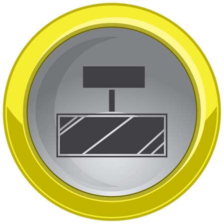 holder: board holder button Illustration