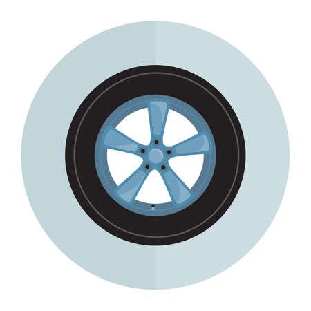 car tire: car tire