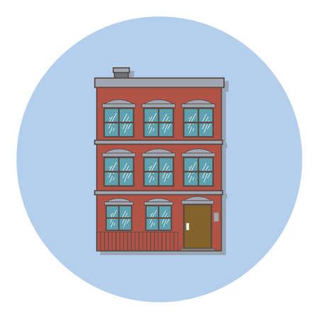 residency: building Illustration