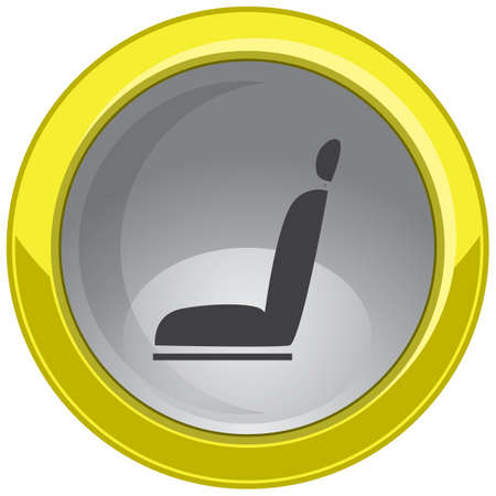 seating: seat button