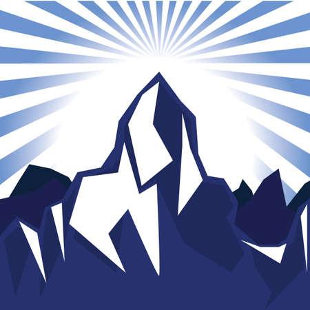 mountain peak: mountain peak