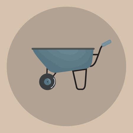 wheel barrow: wheel barrow