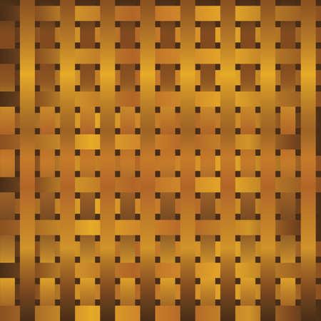 pressed: old bamboo basket background