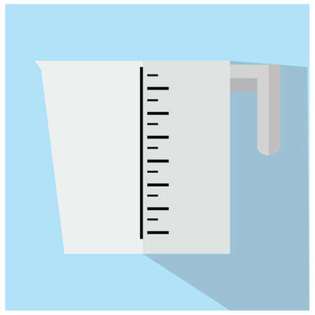 measuring cup: measuring cup Illustration