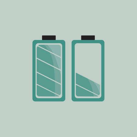 volts: battery Illustration