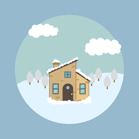 winter  house: winter house