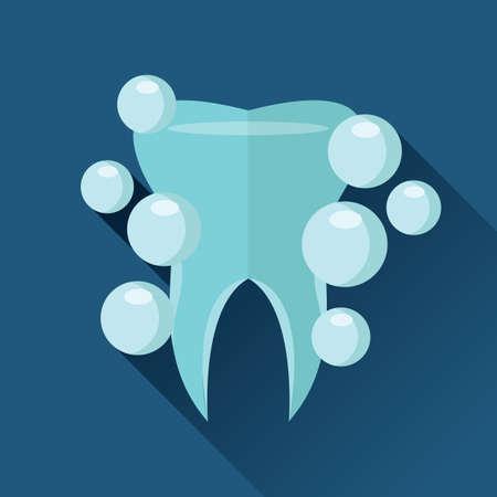 enjuague bucal: Diente en enjuague bucal