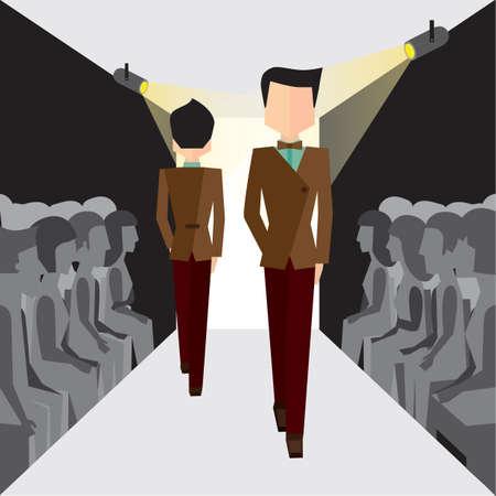 ramp: men on ramp walk