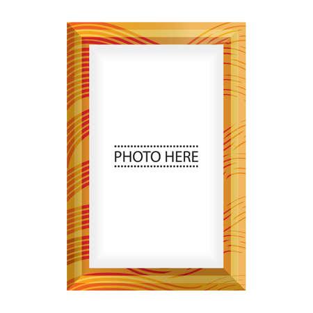 photo: photo frame Illustration