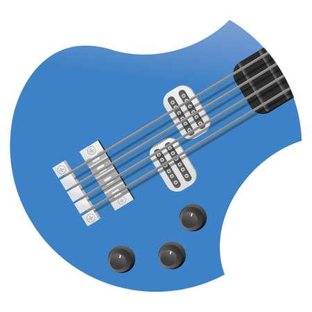 bass: bass guitar