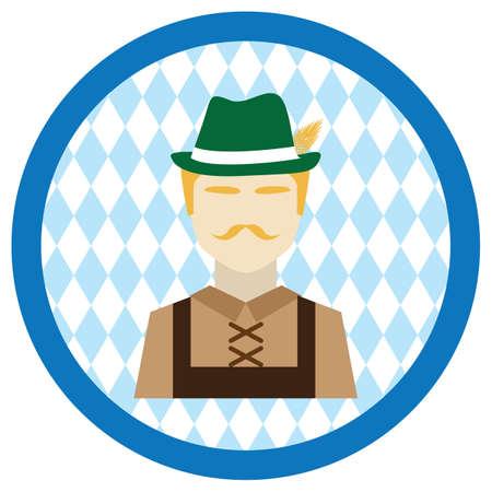 bavarian: bavarian man