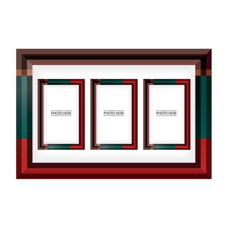photo: photo frames Illustration