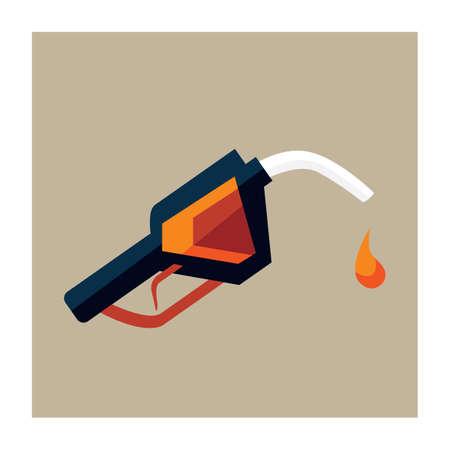 pump: fuel pump nozzle Illustration