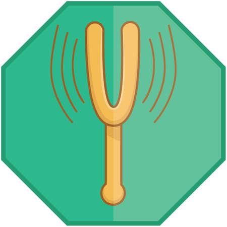 tuning fork: tuning fork Illustration