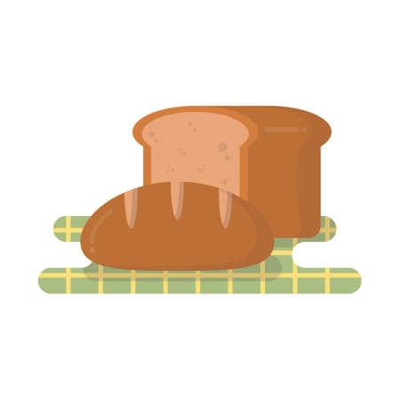 loaf: bread loaf