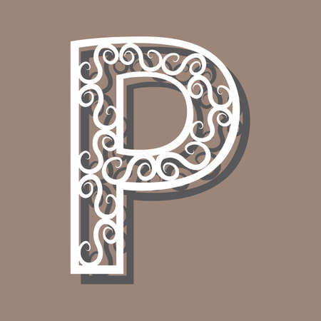 la letra P