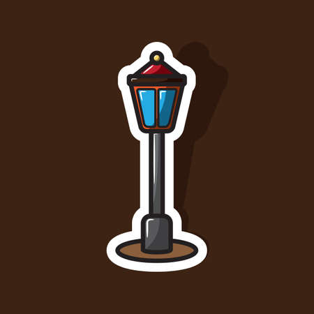 street lamp: street lamp Illustration