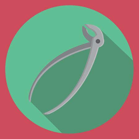 dental pliers Illusztráció