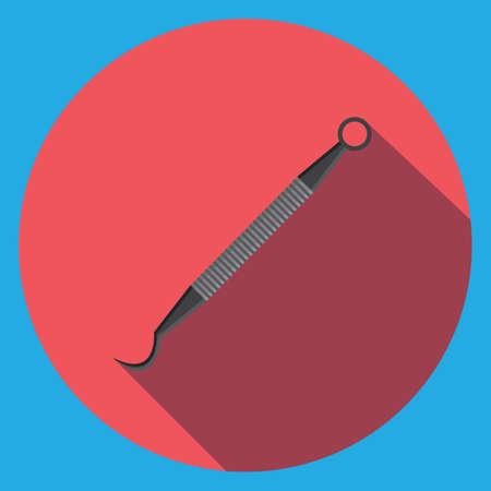 probe: dental probe Illustration
