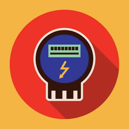 meter: electricity digital meter