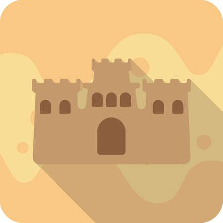 sand castle: sand castle