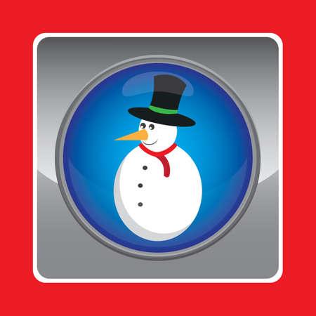 outerwear: snowman Illustration