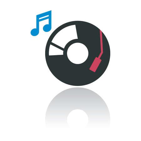 vinyl: vinyl on turntable
