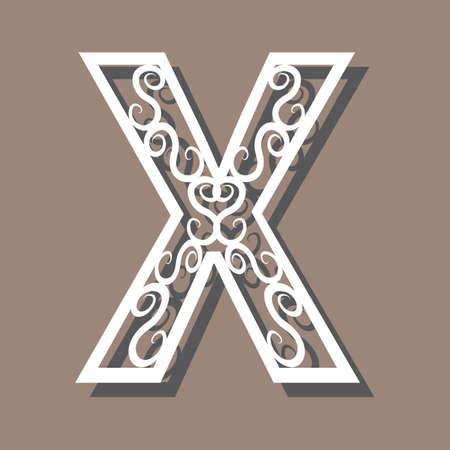 lettre x