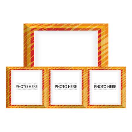 photo frames: photo frames Illustration