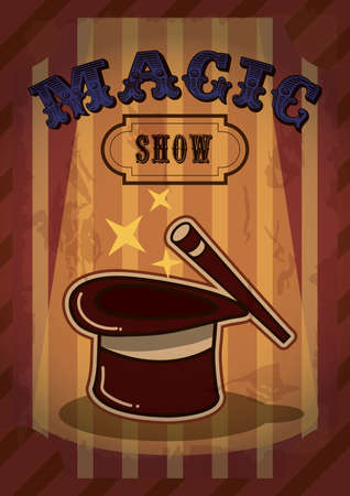 advertisement: magic show advertisement