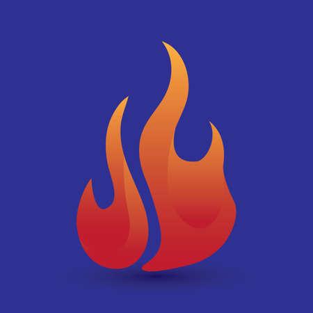 ignite: fire flame Illustration