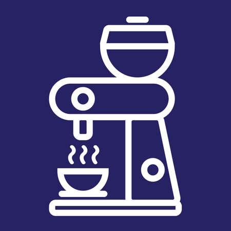 coffee maker machine: coffee maker machine Illustration