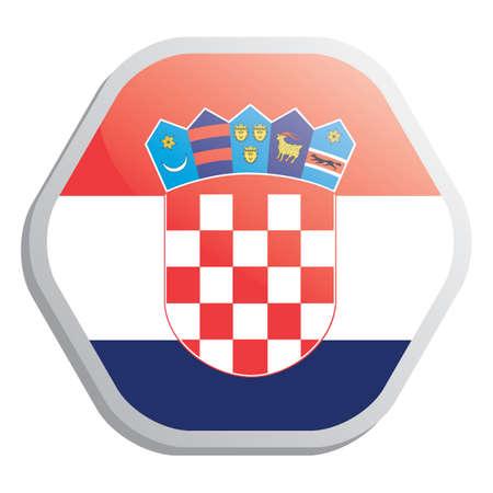 croatia flag: croatia flag