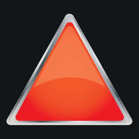 button: triangle button