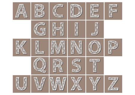 e u: alphabet set