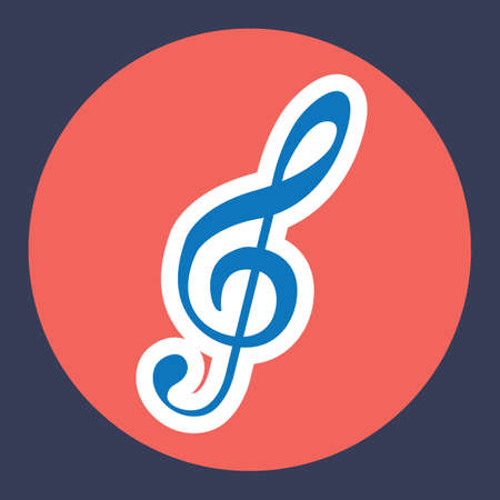 treble: treble clef