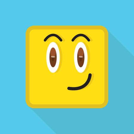 smirking: emoticon smirking