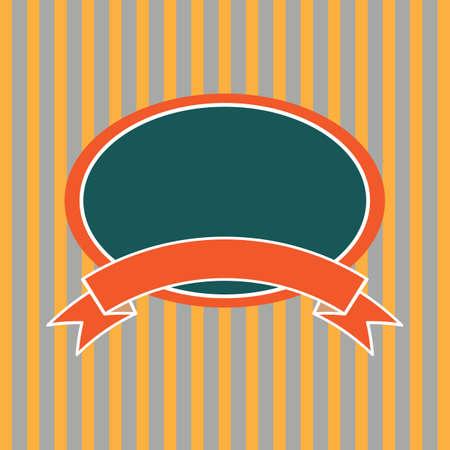 copyspaces: vintage label Illustration
