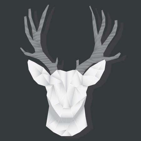 deer face origami