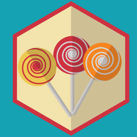 lollies: lollipops Illustration