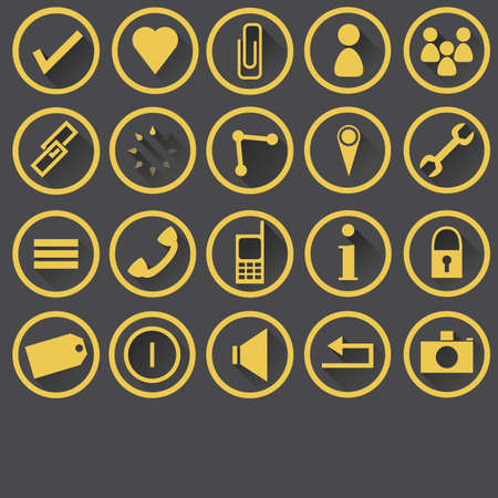 web buttons: collection of web buttons