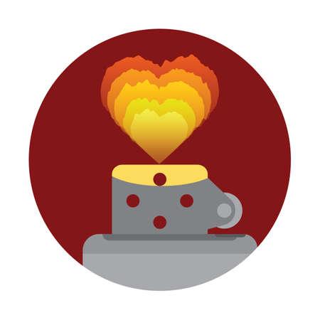 heart burn: lighter